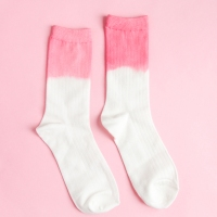 #DIY Dip Dyed Socks