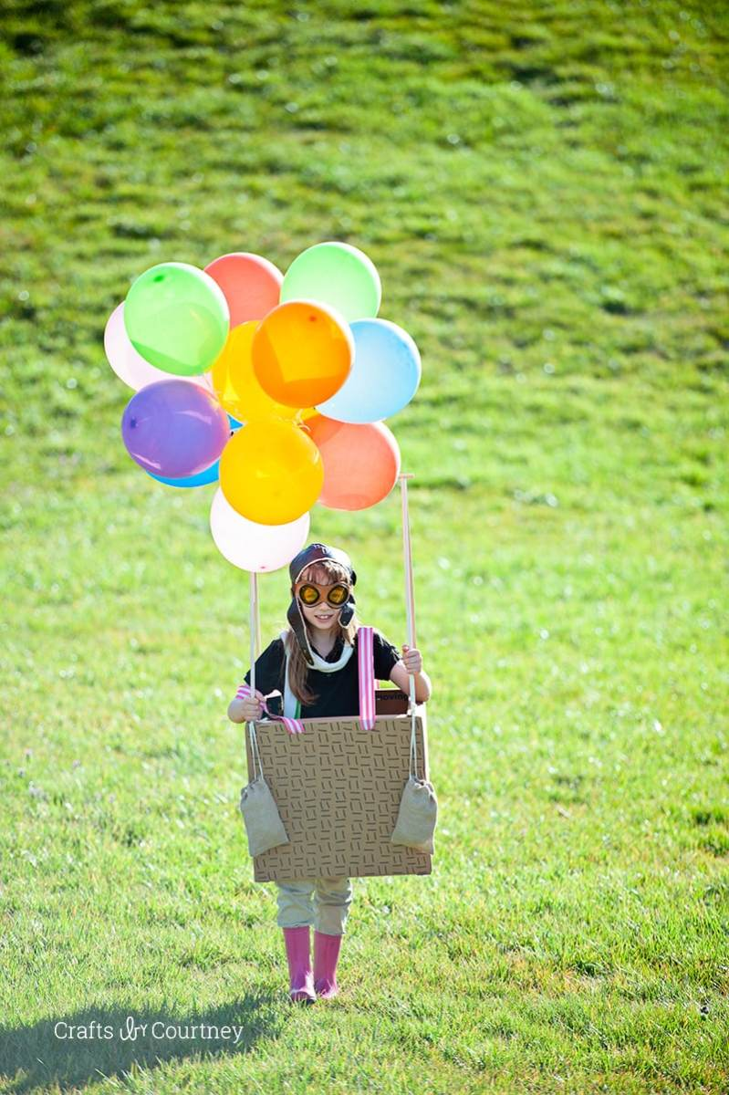 #DIY Hot Air Balloon Costume