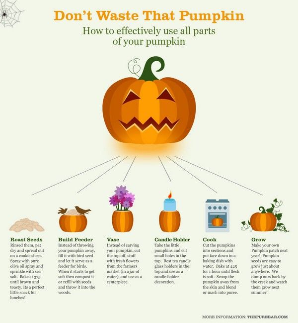 how to use halloween pumpkins