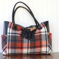 #Upcycled Flannel Tote Tutorial