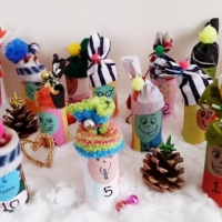 Easy #DIY Advent Calendar Elves