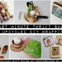 7 Easy #ThriftShop Gift Ideas