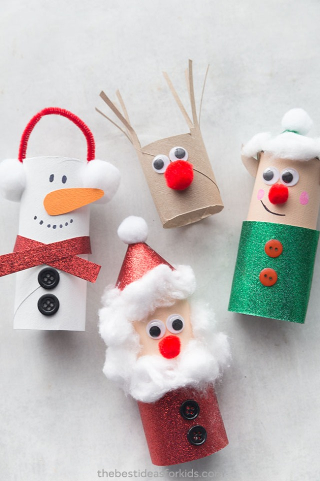 Christmas-Toilet-Paper-Roll-Crafts