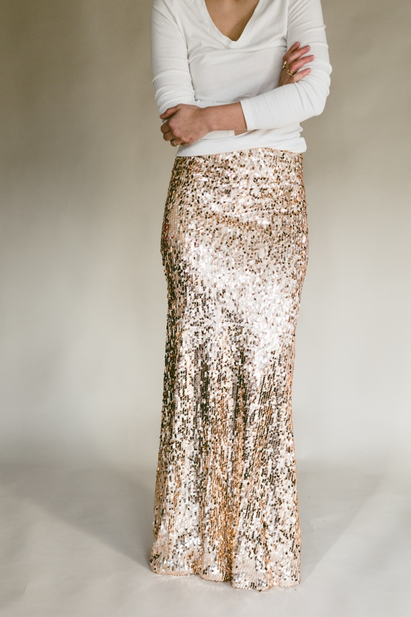 #DIY Sequin Skirt Tutorial