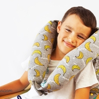 Easy #upcycled neck pillow