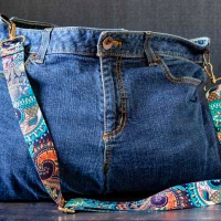 #Upcycled Jeans Tote Tutorial