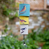 #Upcycled Tin Can Wind Chime