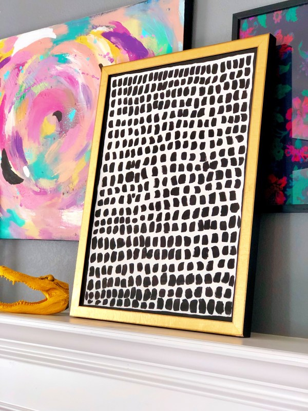 very easy diy art