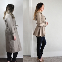 Awesome Trenchcoat #Refashion