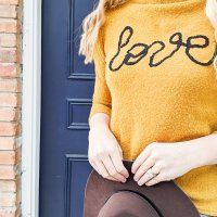 #HowTo applique a sweater