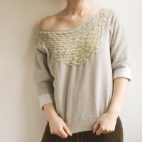Woven T-shirt #Refashion