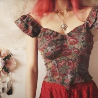 #Upcycled Bustier Tutorial